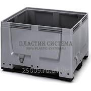 Контейнер BigBox сплошной на полозьях 1200х1000х790мм фото