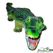 Фигура из полистоуна Крокодил фото