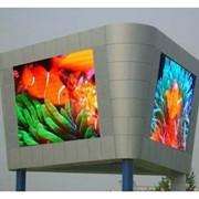 Светодиодный широкоформатный экран фото