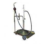 Комплект для маслораздачи с насосом и тележкой UZM12990 фото