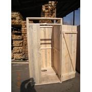 Деревянный туалет без сидушки фото