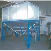 Прямоугольный бункер фото