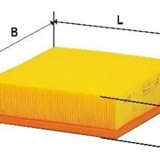 Фильтр воздушный ВАЗ (2110, 2111, 2112), NIVA-1.5i, AUDI DIFA 4401 в пакете фото