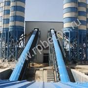 Ленточный бетонный завод БРУ HZS 120 / 2 фото
