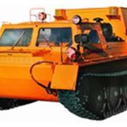 Гусеничный снегоболотоход скорой медицинской помощи ГАЗ-340394 фото