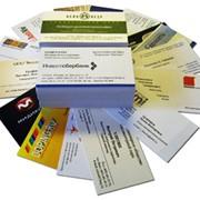 Визитки, продукция полиграфическая, изготовление визиток, Шостка, Украина, Сумская область, цена, заказать, купить фото