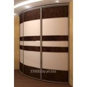 Изготовление радиусных дверей-купе фото