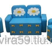 Комплект мягконабивной мебели Бантик с аппликациейдля детей фото