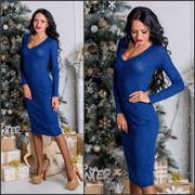 Женское платье миди, 3 цвета фото