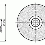 Круги алмазные на металлической связке формы 6А2 500 мм фото