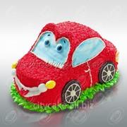 Торт машинка №0038 код товара: 6-0038 фото