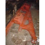 Рама тележки Т-130 левая 24-21-165 СП с плитой 50-21-197 в сборе фото