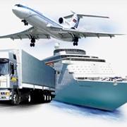 Комбинированные грузовые транспортные перевозки в Украине фото