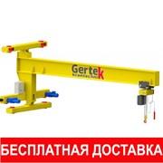 Кран консольный ручной/электро г/п до 16т L до 12м фото