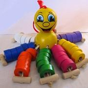 Деревянная детская игрушка Осьминог Осьминог 541043 80х170 фото