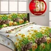 Ткань постельная Бязь 125 гр/м2 220 см Набивная Котята на лужайке 3997-1/S538 TDT фото