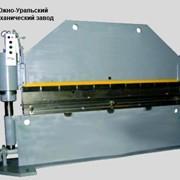 Пресс листогибочный гидравлический И1434А фото