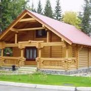 Строительство деревяных домиков фото