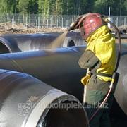Антикорозийное покрытие труб Карбофлекс фото