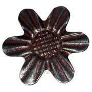 Изделие из металла цветок WH-6307 d 77, артикул 10623 фото