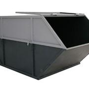 Бункер ТБО объем 8 м3 фото
