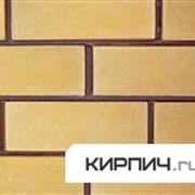 Силикатный облицовочный кирпич полнотелый полуторный желтый гладкий КЗСК фото