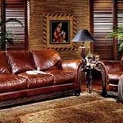 Кожаная мебель фото