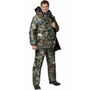 Костюм Снайпер (куртка длинная, полукомбинезон) (ткань Алова) КМФ Тёмный Лес фото