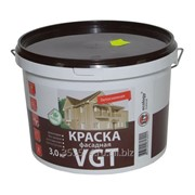 Краска ВГТ фасадная ВД-АК-1180 Белоснежная 3 кг фото