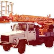 Автовышка АГП-17 фото