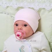 Шапочка-колпачок трикотажная фото