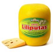 Сыр ферментный полутвердый Лилипутас ручной работы фото