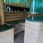 Мебель для кухни из натурального дерева фото