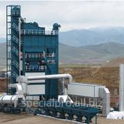 Стационарный асфальтобетонный завод АБЗ С160, производительностью 160 тонн/час фото