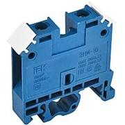 Зажим наборный ЗНИ-10мм2 (JXB70А) синий ИЭК фото