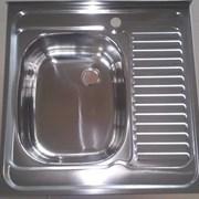 Кухонная мойка накладная  фото