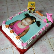 Выпечка кондитерских изделий, Нанесение фото на торт! Торты с фотографиями! фото