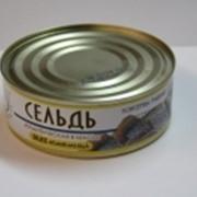Рыбные консервы Сельдь 240 гр фото