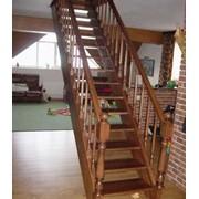 Лестница на тетивах фото