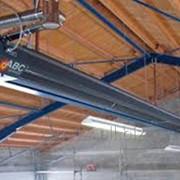 Инфракрасные системы отопления, Газовые инфракрасные обогреватели фото