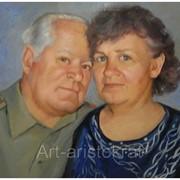 Портреты и шаржи, маслом, на заказ по фотографии, в графическом или живописном исполнении! фото