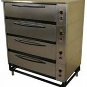 Шкаф жарочно-пекарский 4-х секционный Тулаторгтехника ЭШП-4с(у) (оцинкованная сталь) фото