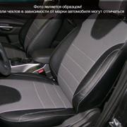 Чехлы Chevrolet Orlando 12 5м чер-сер эко-кожа Оригинал фото