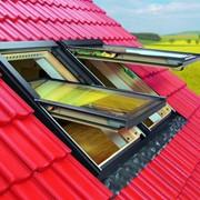 Металлопластиковые мансардные окна фото