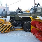 Снегоочиститель шнекороторный на шасси Урал фото
