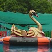 """Бамперная лодочка """"Лебедь"""" фото"""