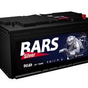 Аккумуляторная батарея 6СТ - 90 АПЗ Bars Silver фото