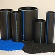 Полиэтиленовые трубы ПНД ПЭ-100 (HDPE PE100), ПЭ-80 (HDPE PE80) фото