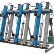 Пресс пневмо-гидравлический для склеивания бруса и щита VESP3000-18000/150-350/1350-2000 фото