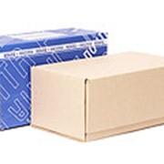 Почтовая коробка 425*265*190 бурая фото